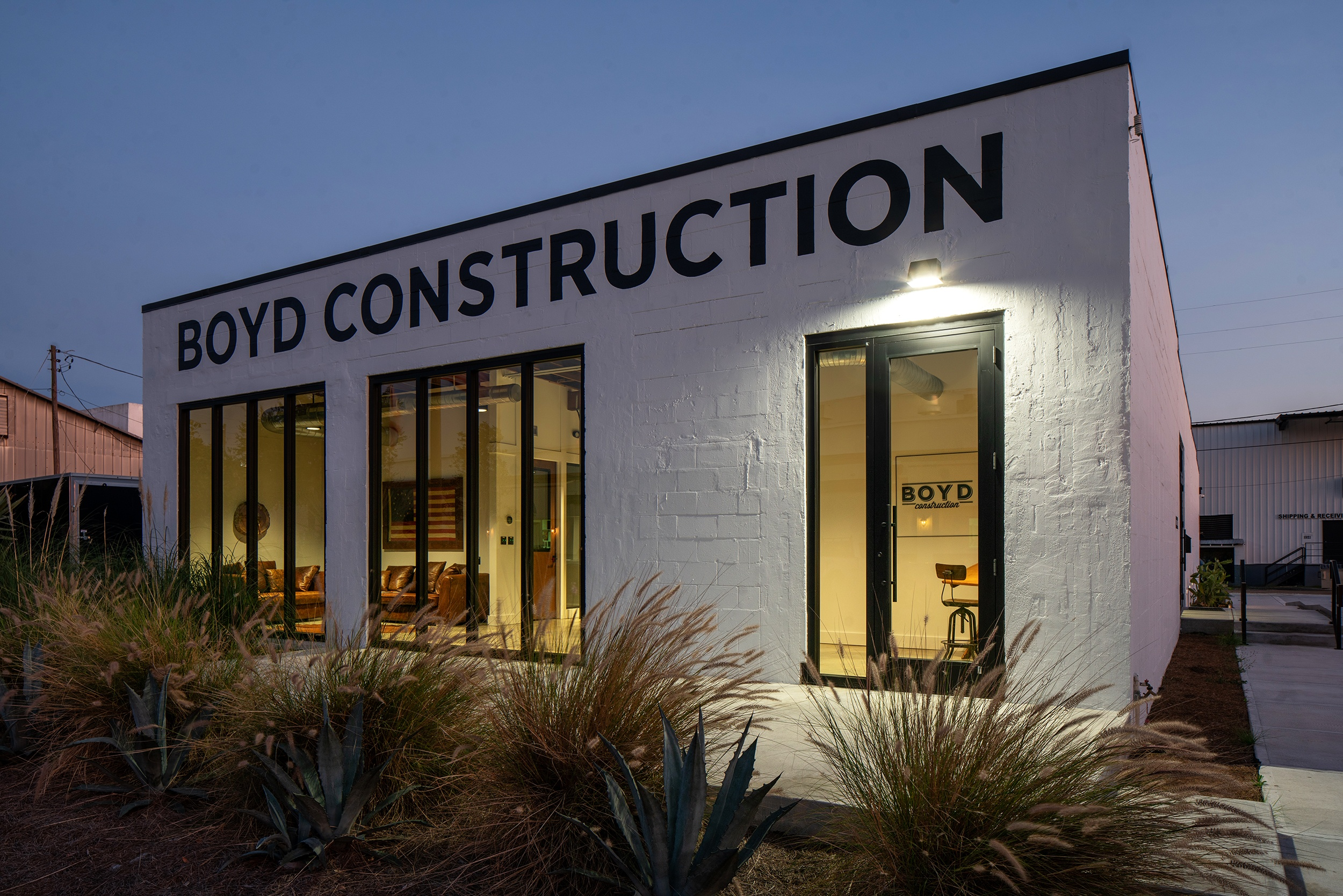 Boyd-Construction---Dusk-Far-Angle